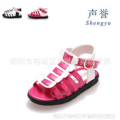 2014年新款夏季糖果色罗马款女童凉鞋公主鞋宝宝鞋儿童童鞋批发