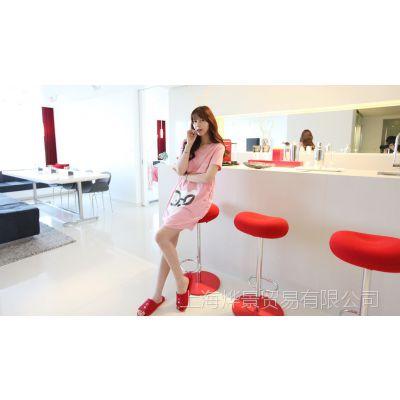 特价批发2013孕妇装新款韩版时尚孕妇哺乳裙孕妇小兔子图案哺乳裙