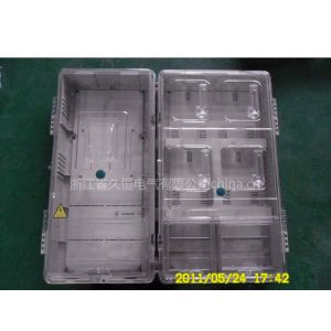 供应全透明拼装4户/四位电表箱