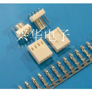 供应2510、2.54-4P特殊错位胶壳,弯针座90度,端子,条形连接器