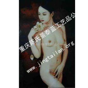 供应渝景精美景泰蓝装饰画(YJ024)