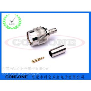 供应TNC公头焊线式连接器,TNC焊线式公头
