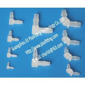 供应塑料接头 L型90度弯头 二通接头 宝塔软管插管接头