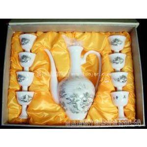 供应SJDI03 景德镇 陶瓷  釉上彩 山水  茶具 瓷器 礼品
