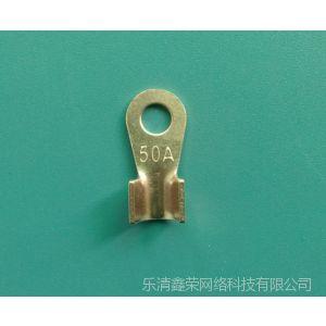 供应OT铜开口鼻 OT 80A 铜鼻子 铜线耳 铜接头 接线鼻