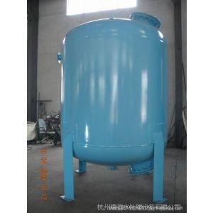 供应3200mm*1500mm碳钢衬胶过滤器,去除水中浑浊度 内衬天然橡胶