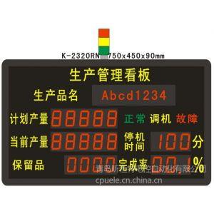 供应生产车间管理看板:实时采集生产数据,传递指令,生产目视化管理