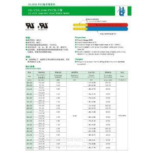 供应UL2468美标电缆,UL电子排线,双并线。厂家直销,可定制