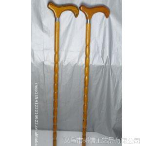 【精品力荐】供应黄色尖头葫芦工艺品手杖 老人拐杖 热销中