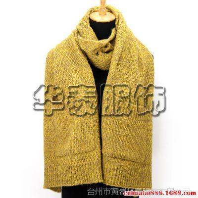 女士口袋围巾,晴伦秋冬保暖披肩,双面大口袋披肩围巾,浙江女士围巾生产厂家