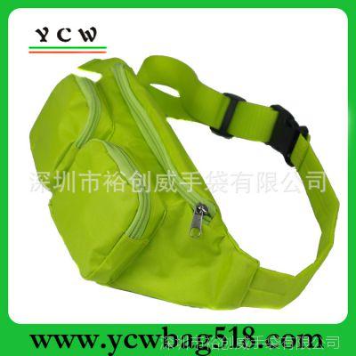 深圳龙岗手袋厂 生产时尚户外腰包 订做牛津布运动腰包