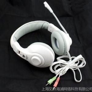 供应狼博旺 NO-550 游戏 耳机 耳麦 头戴式电脑潮带麦克风 直销 F749