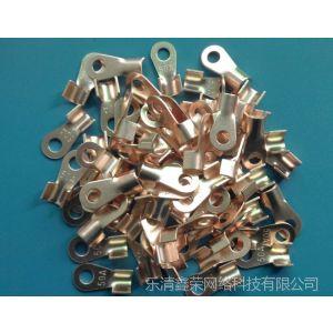供应OT铜开口鼻 OT 10A 铜鼻子 铜线耳 铜接头 接线鼻
