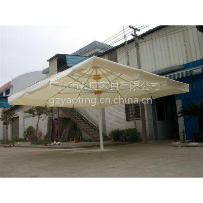 供应售楼部开盘装饰遮阳伞,小区门口保安遮阳伞,铝合金材质