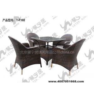 供应藤编桌椅制造