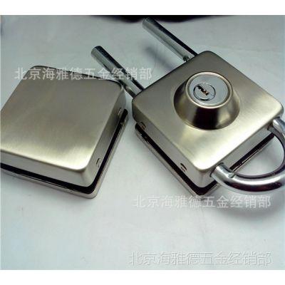 玻璃门锁  玻璃门锁双门 半圆玻璃门锁 玻璃门中央锁 海雅德锁具