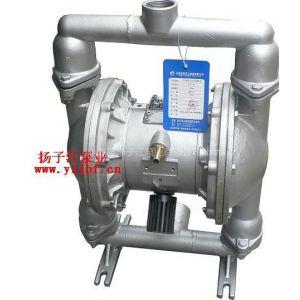 供应隔膜泵规格:QBY型不锈钢气动隔膜泵