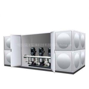 供应CFGX全自动箱式无负压变频供水设备