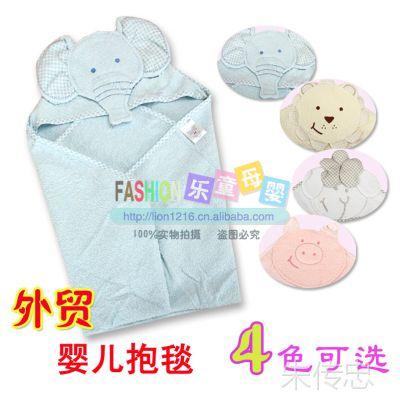 纯棉毛巾被 抱毯 宝宝新生儿婴儿必备 春夏款抱被盖毯浴巾