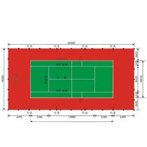 杭州网球场地施工桐庐塑胶篮球场建设