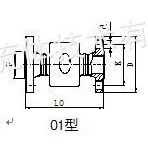 供应中低压/低速焊接式旋转接头rd1/rd2l