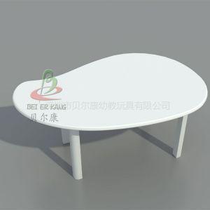 供应幼儿园卡通芒果造型木桌