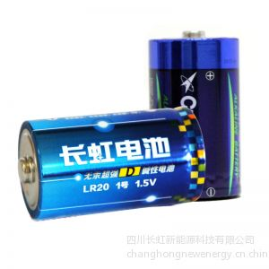 供应长虹电池 大号干电池厂家 热水器燃气炉专用电池 1号电池批发