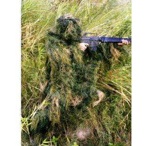 供应战地黑鹰厂家草状迷彩伪装服、伪装衣、狩猎打猎服