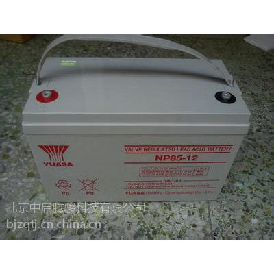 供应广东汤浅蓄电池12V65AH代理商