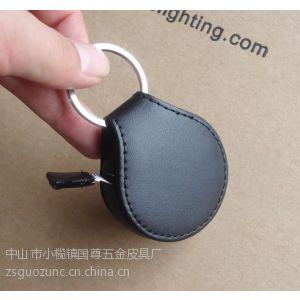 供应专业生产真皮卷尺 PU 卷尺 PVC皮革卷尺