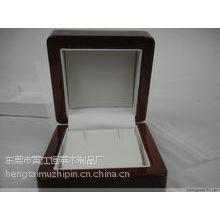 供应东莞木盒厂 供应浪琴高档手表盒 黑色哑光劳力士手表包装盒木盒