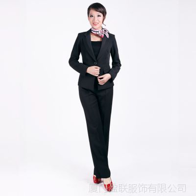 2014春秋款 女式职业西装套装现货批发 长裤西服 COOFLY品牌 1393