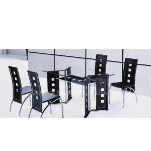 品牌玻璃餐桌价格信息 餐厅家具生产厂家 名友