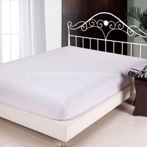 【厂家专业供应】五星级酒店专用 全棉60S 330T贡缎面料 床罩床笠