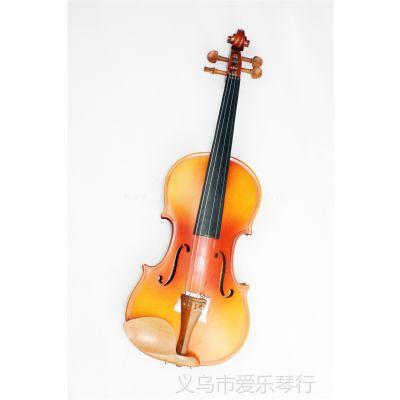 供应4/4木色 虎纹 小提琴 枣木配件 哑光 拉弦类乐器 西洋乐器 批发