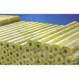 荣成岩棉保温管规格多、供货及时