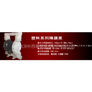供应聚丙烯气动隔膜泵 型号:RD-hgtx26/RG25