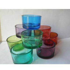 供应玻璃工艺品 玻璃烛台