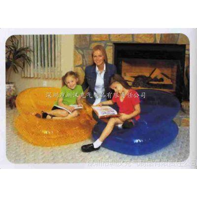 专业生产PVC充气家庭沙发 时尚充气懒人沙发 pvc充气单人沙发