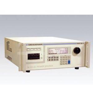 供应加州仪器I/IX 系列II精确的输出调整率,高负载电流,多项或单项输出通用交流电源