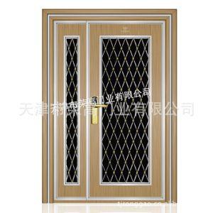 供应2012新款 优质金属 新型材料金色家居防盗门 办公室门