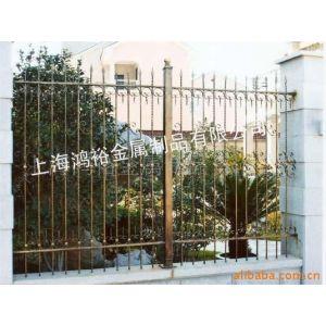 供应、铁艺围栏上海铁艺阳台栏杆小区外墙栏杆不锈钢栏杆