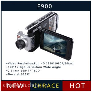 供应车驰100%原装正版旋转屏行车记录仪F900,高清高品质,可270°旋转屏幕