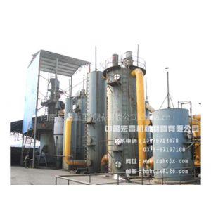 供应单段炉热煤气工艺流程