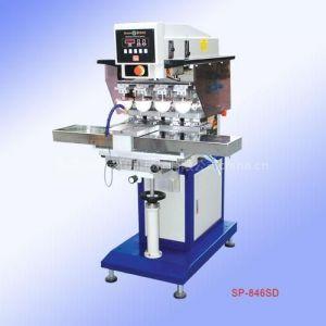 供应恒晖移印机 SP-846SC气动左右穿梭四色移印机