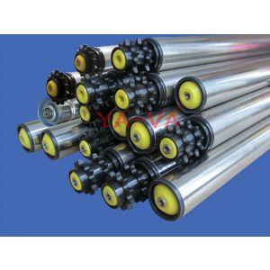 供应上海YA-VA专业销售优质输送弹簧压入式轴心滚筒