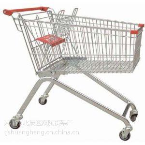 供应供应天津超市购物车手推车双层医用小推车库房专用手推车机场行李车