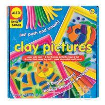 供应美国ALEX彩泥画儿童手工玩具3岁以上亲手制作装饰