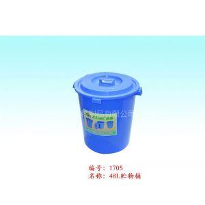 供应50L塑料桶,垃圾桶,厦门垃圾桶