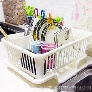 乐彼 厨房滴水碗架收纳架 置物架 大号餐具架 沥水架 碗碟架